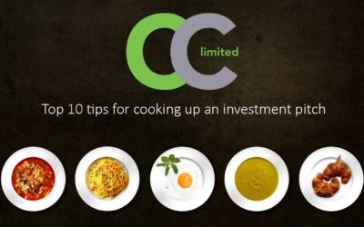 Top 10 tips for cooking up an investment pitch